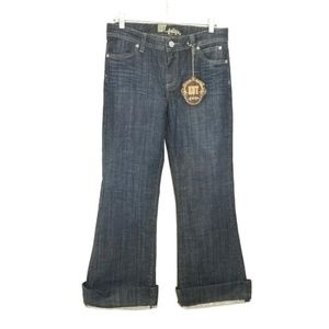 Kut From The Kloth Wide Leg Cuffed Jeans